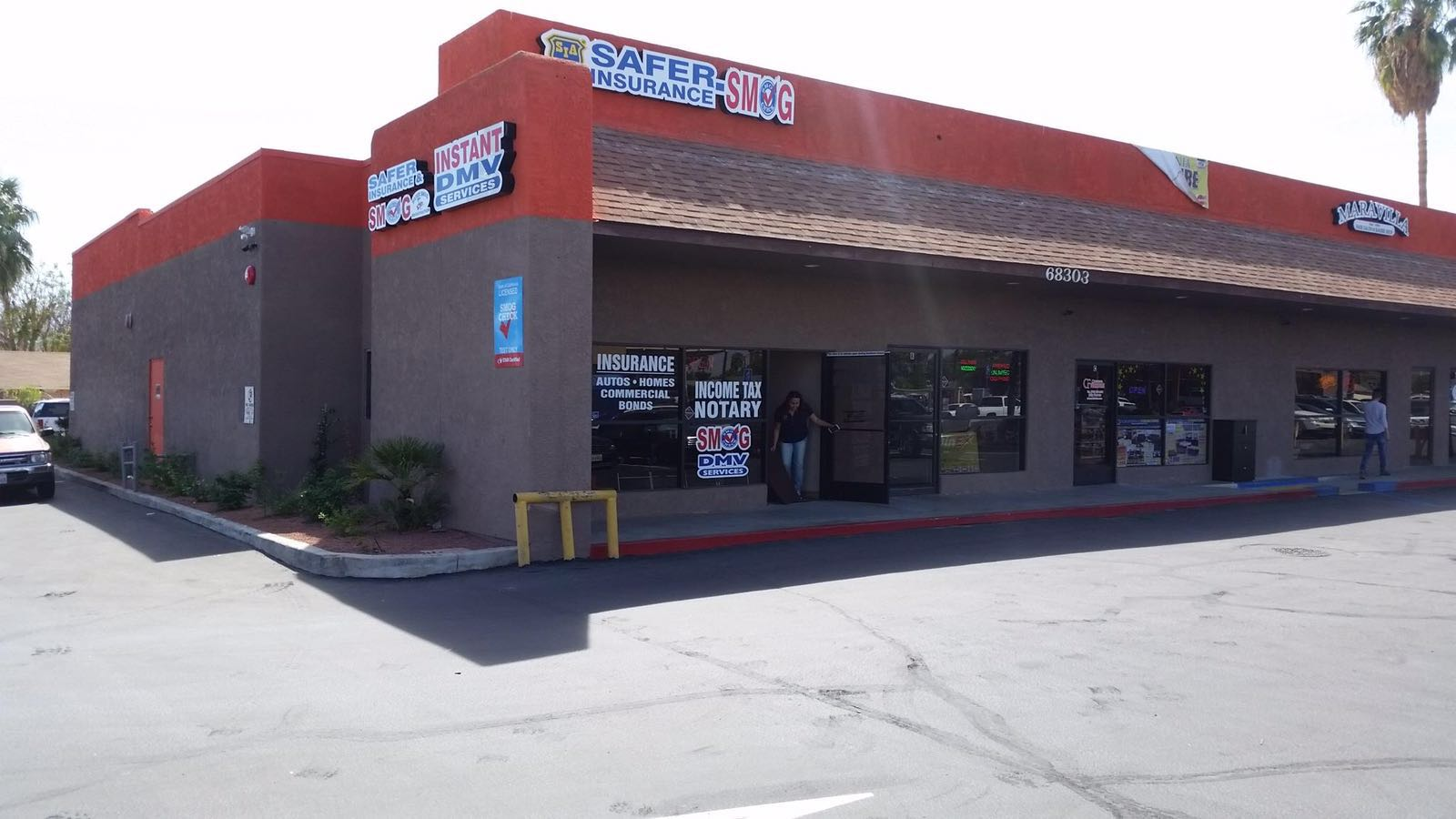 Safer Smog Check - Cathedral Front View Image